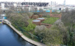The Old Ford Water Recycling Plant will provide recycled water for nonpotable use during the 2012 Olympic Games. Photo courtesy of London 2012