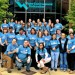 WEF staff show support for the WATER'S WORTH IT message by wearing campaign shirts. WEF photo/Grace Hulse.