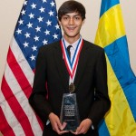 Kunal Sangani won the 2012 Stockholm Junior Water Prize for the United States. Photo courtesy of Allison O'Brien.
