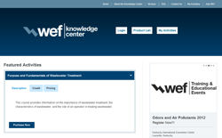 WEF Knowledge Center screenshot
