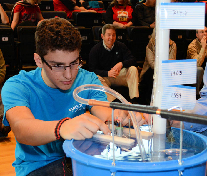 Degree Of The Ocean And Efficient N: Students Design Efficient Water Pumps For Let's Solve