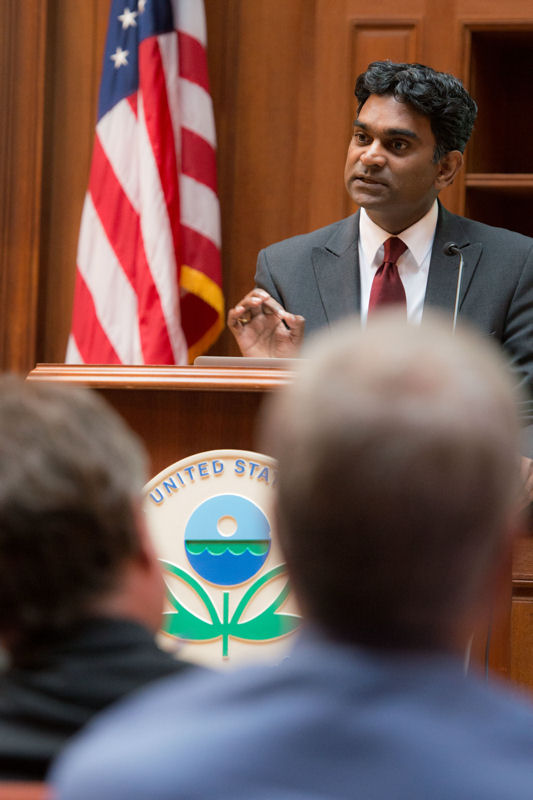 Kalanithy Vairavamoorthy is dean of the Patel College of Global Sustainability at the University of South Florida (Tampa). Photo courtesy of Eric Vance ©U.S. EPA.