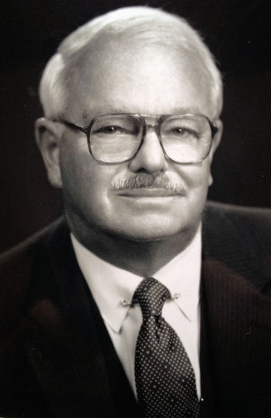 Charles B. Kaiser Jr., Water Environment Federation (WEF; Alexandria, Va.) president from 1990 to 1991. WEF Archives photo.
