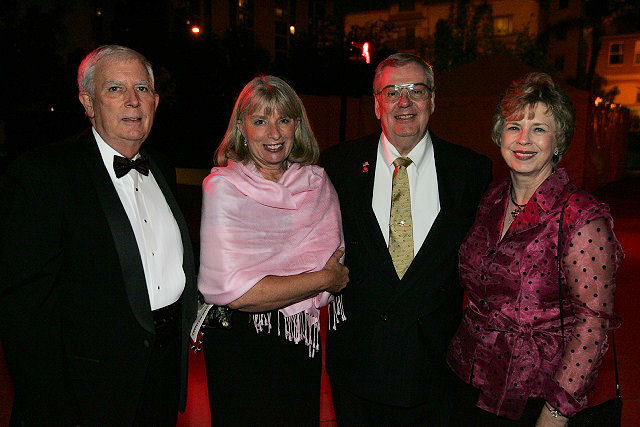 Sorber (third from left) attended the Past Presidents reception at WEFTEC 2007. WEF photo.