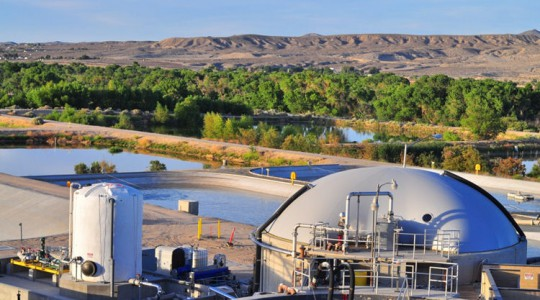 Victor Valley Wastewater Reclamation Authority (VVWRA; Victorville, Calif.) will host a ribbon-cutting ceremony celebrating the Omnivore™ system, which will help the authority become 90% to 100% energy neutral by 2015. Photo courtesy of VVWRA.