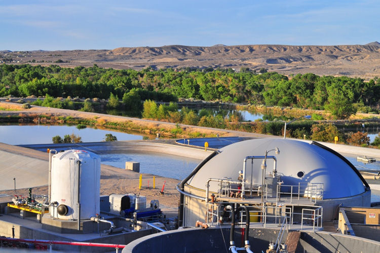 VVictor Valley Wastewater Reclamation Authority (Victorville, Calif.) will host a ribbon-cutting ceremony celebrating the Omnivore™ system, which will help the authority become 90% to 100% energy neutral by 2015. Photo courtesy of Anaergia Inc. (Burlington, Ontario, Canada).