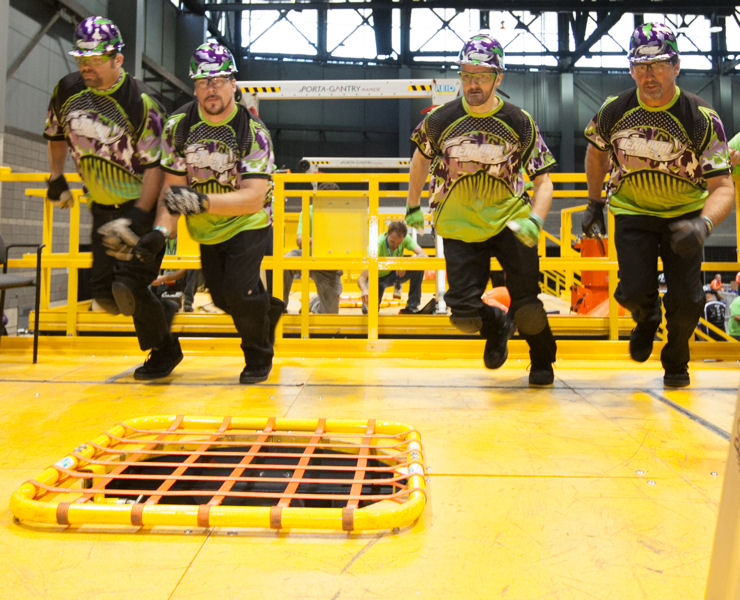 Teams compete in five events during Operations Challenge at WEFTEC. Photo courtesy of Kieffer Photography.