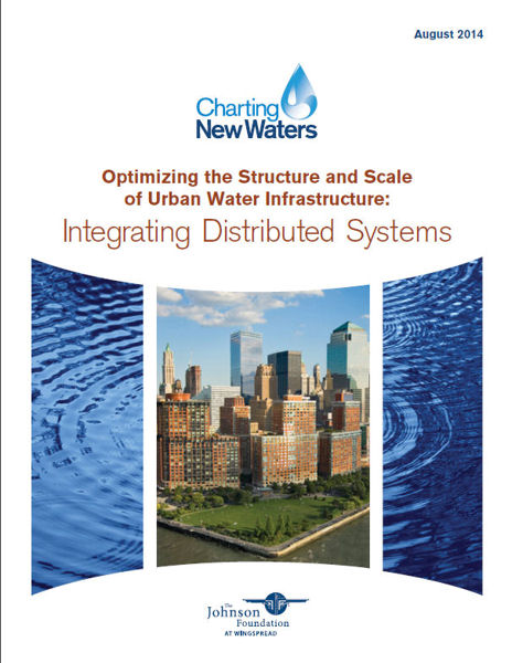 "The Johnson Foundation at Wingspread (Racine, Wis.) report, ""Optimizing the Structure and Scale of Urban Water Infrastructure: Integrating Distributed Systems,"" examines the potential use of distributed water infrastructure systems. Photo courtesy of The Johnson Foundation at Wingspread."