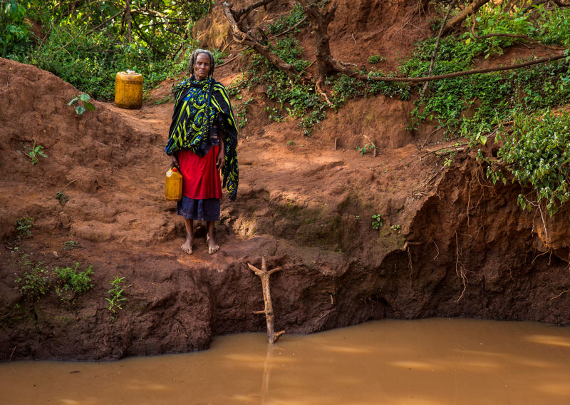 Funds raised by the campaign will support efforts to build new drinking water and sanitation facilities and to work s to provide health and hygiene information in the Borena region of southeastern Ethiopia. Photo courtesy of Uttley.