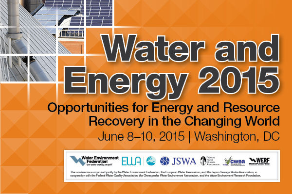 Water Energy Conference 2015
