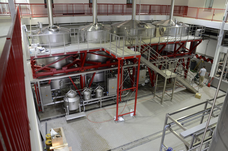 Avery Brewing has opened a new highly efficient, state-of-the-art brewhouse. Photo courtesy of Avery Brewing Co.