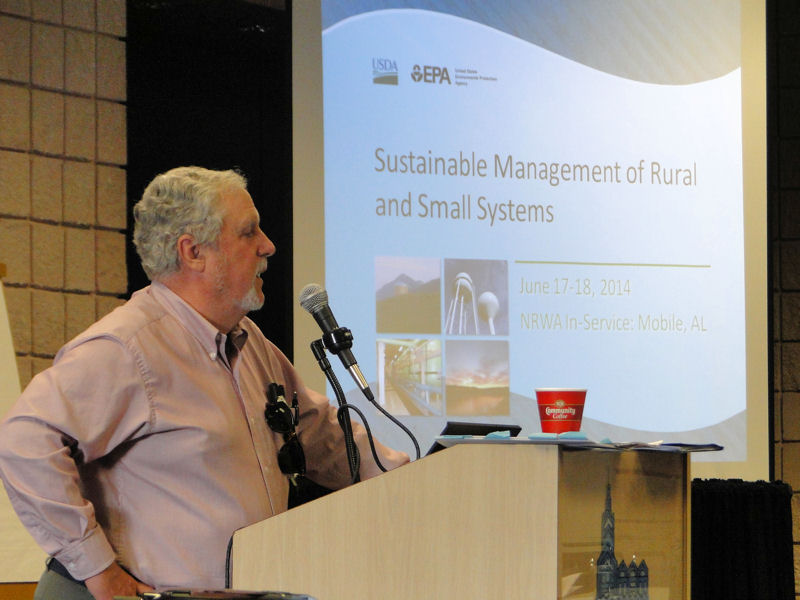 The U.S. Environmental Protection Agency (EPA) works with partners to offer a variety of programs to prepare utilities for extreme weather including this workshop on managing small or rural utilities. Photo courtesy of the U.S. Environmental Protection Agency and National Rural Water Association (Duncan, Okla.).
