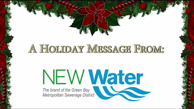 NEW Water released the video in December 2014 to educate their community by using humor. Photo courtesy of Green Bay Metropolitan Sewerage District.