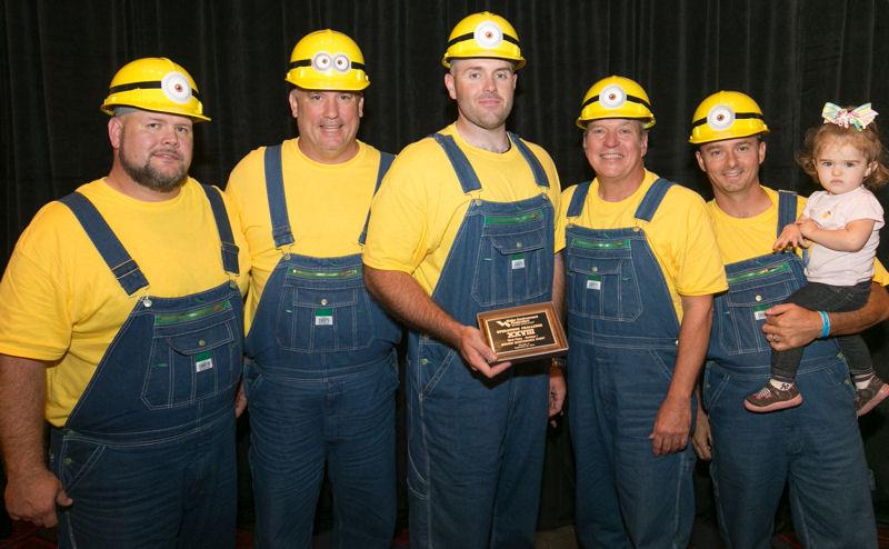 Third: Blue Ridge Brawlers, Virginia WEA
