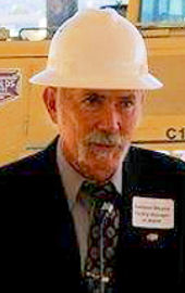 Garland Mayne, member since 1975, Water Environment Association of Utah. Photo courtesy of Mayne.
