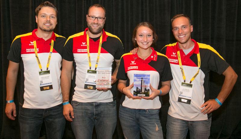Team Congeniality and Best Fan Support: DWA Team Düsseldorf