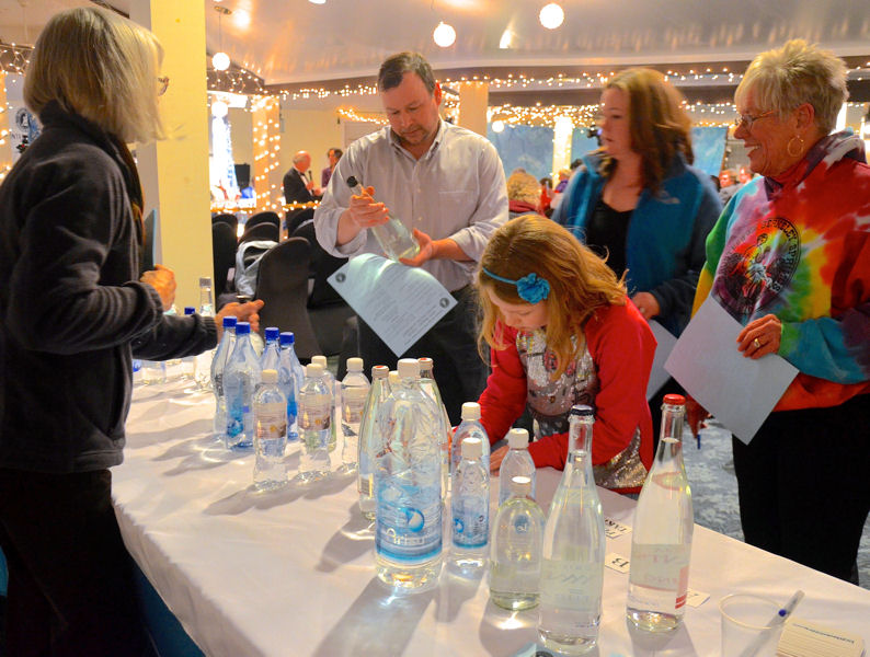 Members of the public can attend and taste water alongside judges during the event. Photo courtesy of Travel Berkeley Springs.