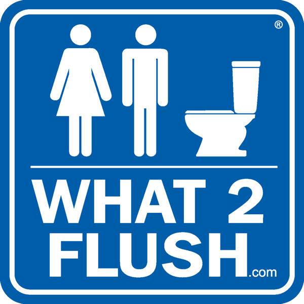 The What 2 Fluch program educates ratepayers about the hazards of using toilets as trash cans. Photo courtesy of OCSD.