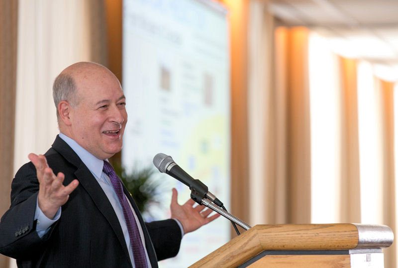 Great Water Cities 2016: Rainfall to Results in Action attendees heard a keynote presentation by Richard W. Spinrad, chief scientist of the National Oceanic and Atmospheric Administration. Photo courtesy of Kieffer Photography,