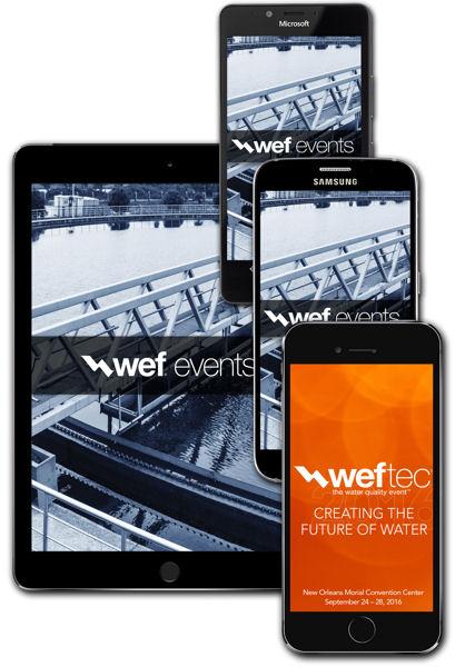 WEFTEC2016 Mobile App