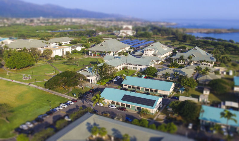 Students can learn water and wastewater operator skills at the university in Kahului, Hawaii. Photo courtesy of the University of Hawaiʻi Maui College.