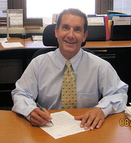Bob works as deputy director of Treatment Process at the Upper Occoquan Service Authority in Centreville, Va. Photo courtesy of the Upper Occoquan Service Authority.
