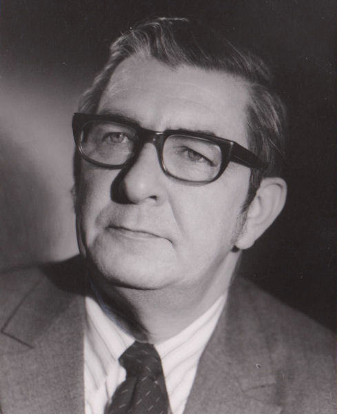 Robert Canham Sr. worked at the Water Environment Federation (WEF; Alexandria, Va.) from 1957 through 1986, serving many roles including executive director. WEF Archives photo.