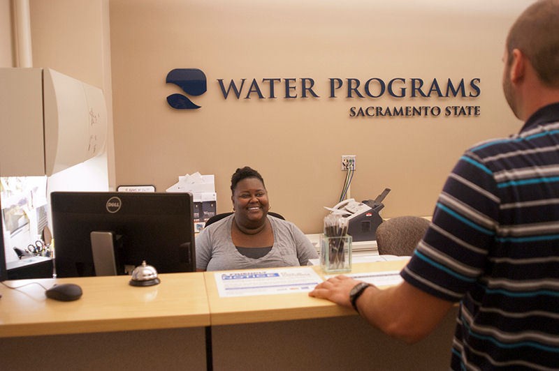The Office of Water Programs located at Sacramento State campus of California State University offers online courses to help train current and future water and wastewater operators. Photo courtesy of Office of Water Programs at California State University, Sacramento.
