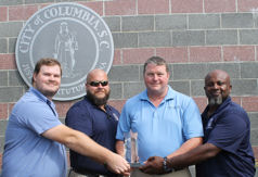 City of Columbia (S.C.) Metro Wastewater Treatment Plant staff, Water Heroes Award