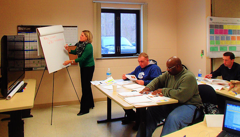 Perkins helps train New England-based engineers, contractors, and municipal employees in South Windsor, Conn. Photo courtesy of Perkins, Wright-Pierce.