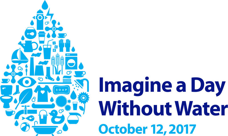Nearly 500 organizations participated in the 2016 Imagine a Day Without Water to raise awareness about the importance of water and water infrastructure. The Value of Water Campaign has scheduled the third annual event for Oct. 12. Photo courtesy of the Value of Water Campaign.