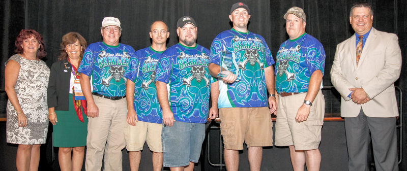 First Place: Blue Ridge Brawlers, Virginia Water Environment Association (WEA)