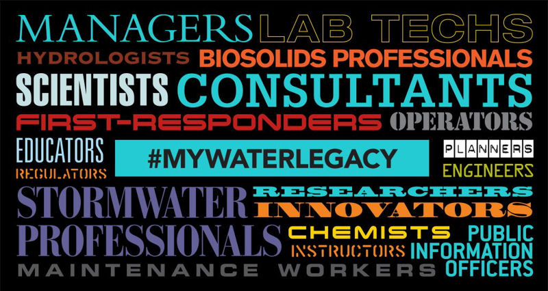 My Water Legacy WordCloud