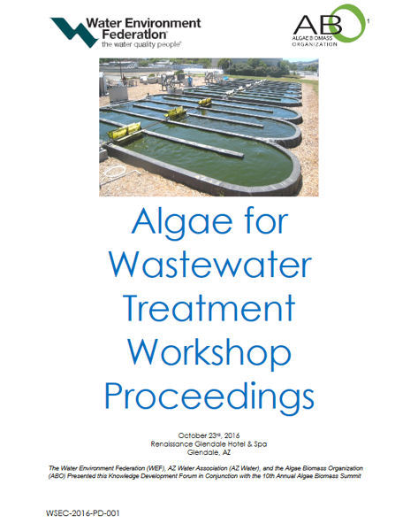 Algae for Wastewater Treatment Workshop Proceedings