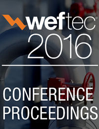 WEFTEC 2016 Proceedings