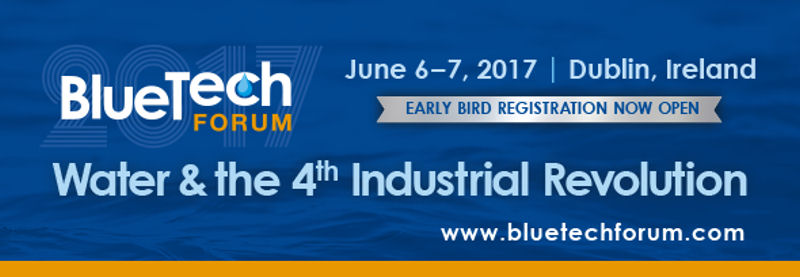 Attendees can learn about water sector innovations and the fourth industrial revolution during BlueTech Forum 2017. Photo courtesy of BlueTech Research.