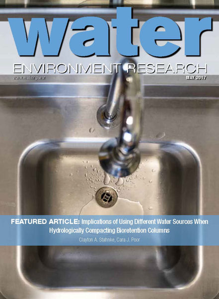 Click to access the most recent issue of the journal, Water Environment Research.