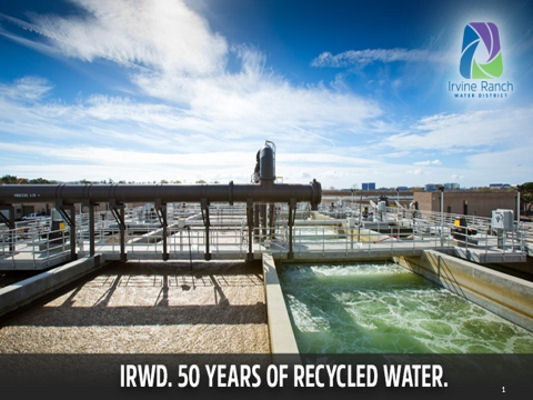 David Hayden, a Grade III operator, has worked to treat and supply safe, recycled water at the Irvine (Calif.) Ranch Water District for more than 35 years. Photo courtesy of Hayden.