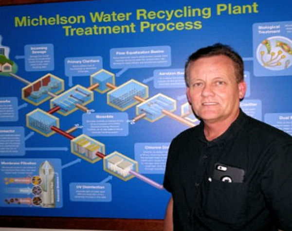 Hayden's water legacy has been passing along knowledge to a new generation of wastewater professionals. Photo courtesy of Hayden.