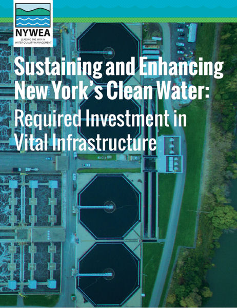 "NYWEA also released the guide, ""Sustaining and Enhancing New York's Clean Water,"" to provide additional information and resources to raise public awareness about the water sector. Photo courtesy of NYWEA."