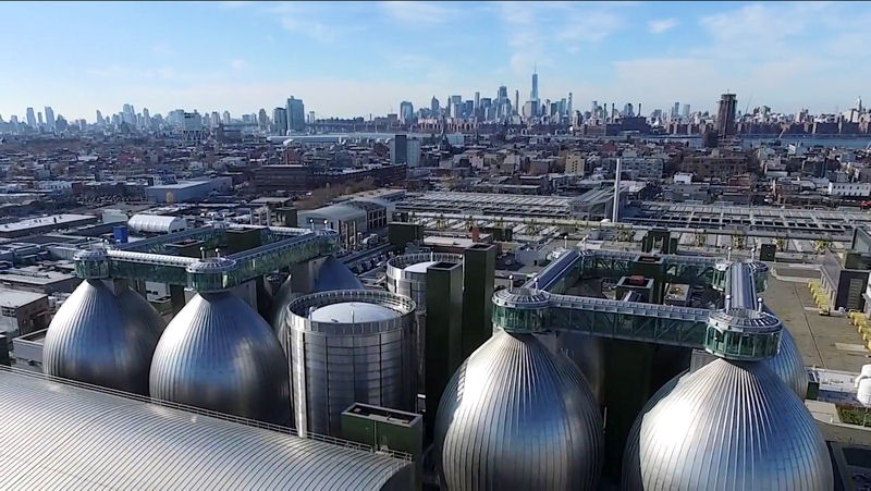 The New York Water Environment Association (NYWEA) released a video showing water resource recovery facilities (WRRFs) across the state while water sector leaders explain the importance of wasteawter treatment for society. Photo courtesy of New York City Department of Environmental Protection and NYWEA.