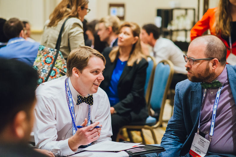 Young professionals participate in discussions with peers during the 2017 Young Professionals Summit in Tampa, Fla. Photo courtesy of Ashley Waldron photography.