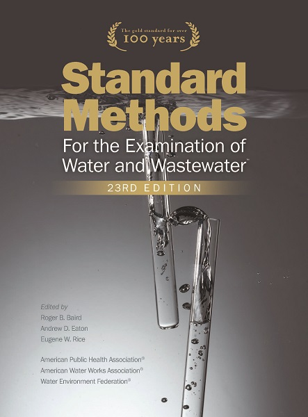Standard methods - 23rd edition