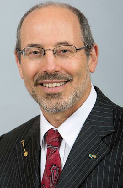 Ed McCormick, 2014–2015 Water Environment Federation WEF president, was announced as a WEF Fellow in 2017. WEF photo.