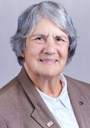 Carolyn K. Offutt, member since 1975, Federal Water Quality Association. Photo courtesy of Offutt.