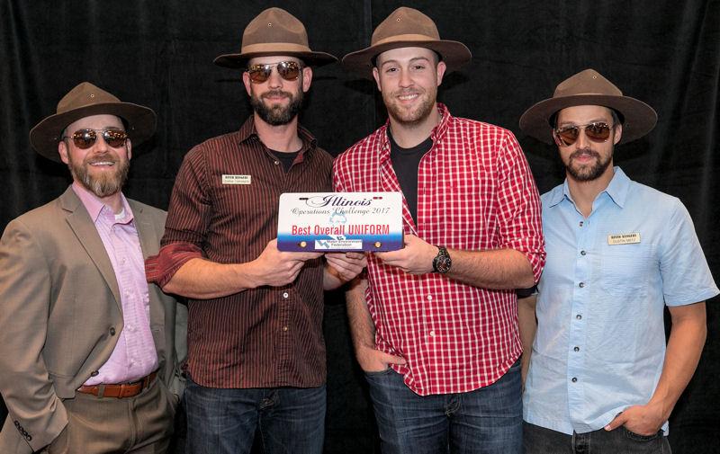 River Rangers, Pacific Northwest Clean Water Association, won the spirit award for best uniform. Photo courtesy of Kieffer Photography.