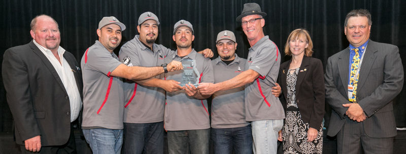 L.A. Wrecking Crew, California WEA, placed second overall in Division 1. Photo courtesy of Kieffer Photography.