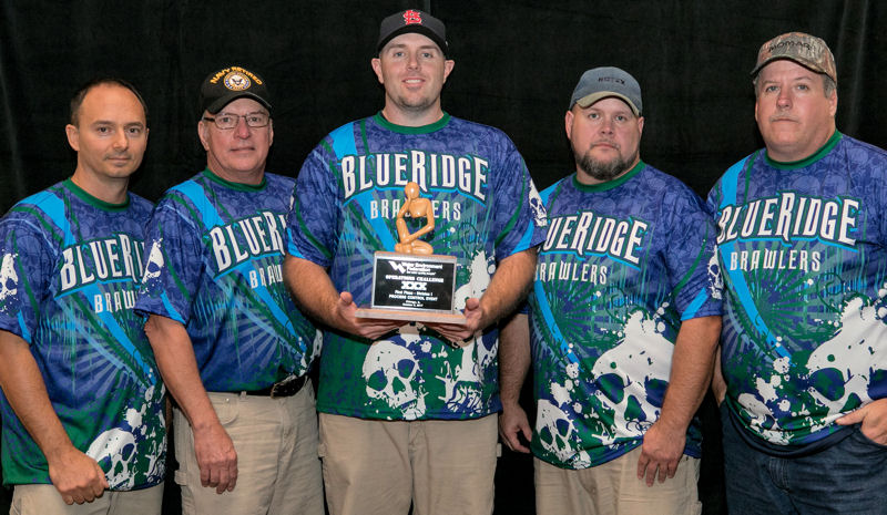 Blue Ridge Brawlers, Virginia WEA, placed first in the Process Control Event in Division 1. Photo courtesy of Kieffer Photography.