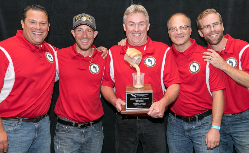 Pumpers, Central States WEA, placed first in the Laboratory Event in Division 2. Photo courtesy of Kieffer Photography.
