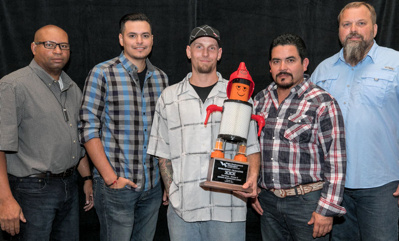 Aqua Techs, WEA of Texas, placed first in the Godwin Maintenance in Division 2. Photo courtesy of Kieffer Photography.